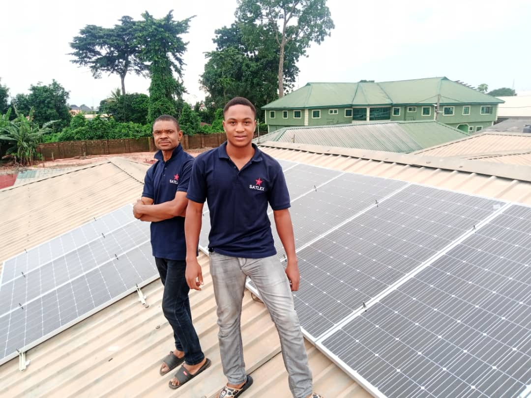 Successful installation of Solar/Inverter power project