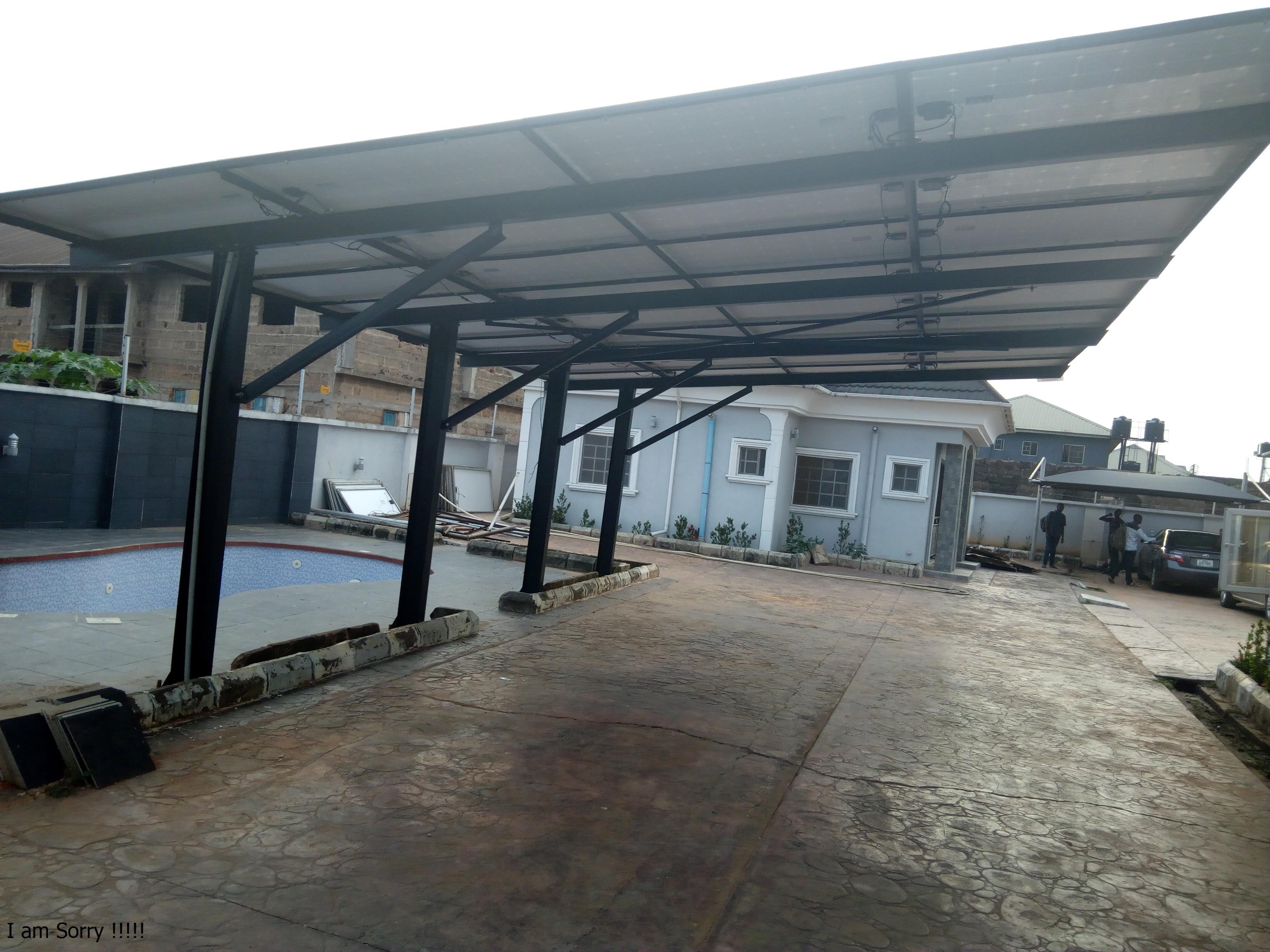 Solar Panel Sheds & Car Ports