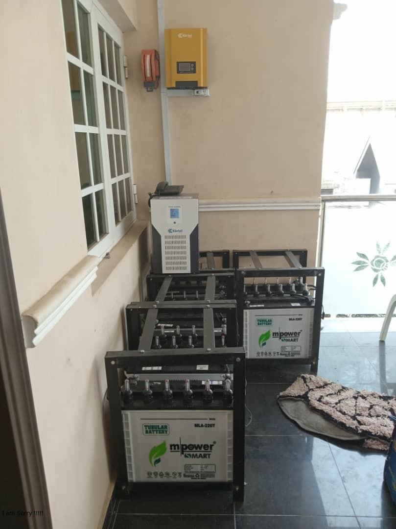 5kva inverter/48volts installation