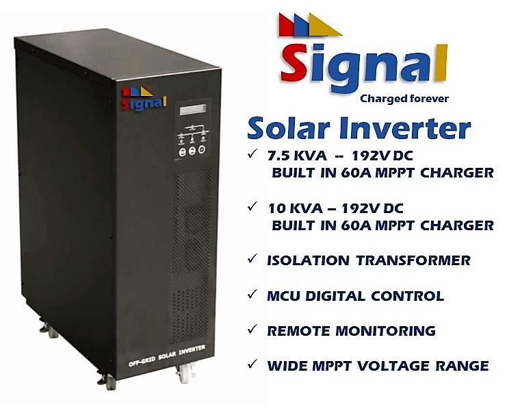 800VA to 250KVA Inverters, Online UPS, and Solar-Power (Hybrid) Inverters